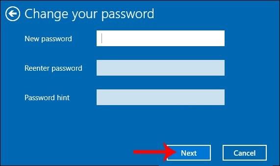 cách cài đặt password cho máy tính win 10