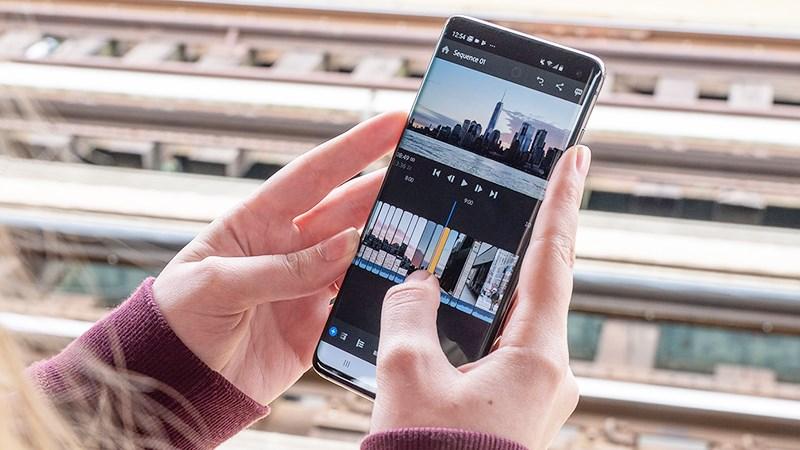 ứng dụng làm video trên android