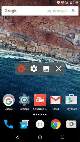 phần mềm quay video màn hình android