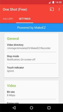 ứng dụng quay video màn hình cho android
