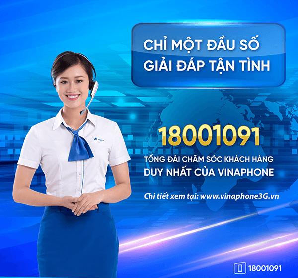 Số điện thoại hỗ trợ 24/7 của nhà mạng Vinaphone