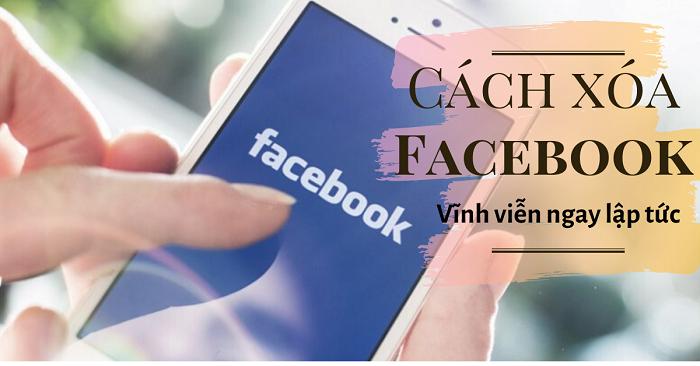 cách xóa tài khoản facebook vĩnh viễn trên điện thoại