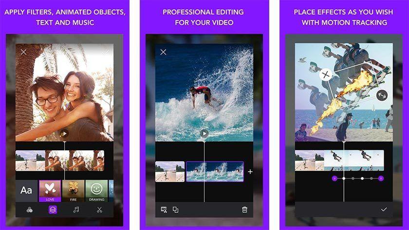 ứng dụng làm video trên điện thoại android
