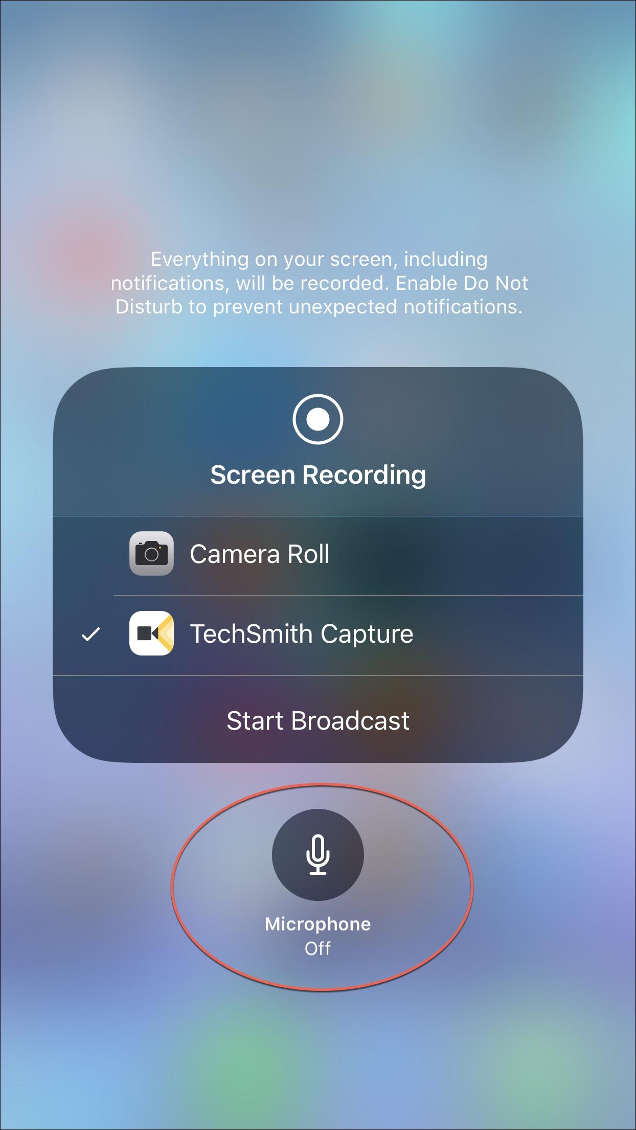 ứng dụng quay video màn hình iphone